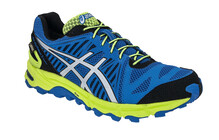 Asics Men's Gel Fujitrabuco 2 Neutral GTX blue/silver/lime